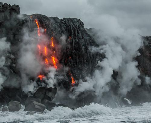 lava cliff