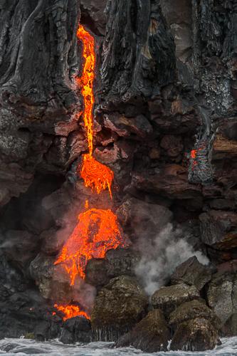 lava piles