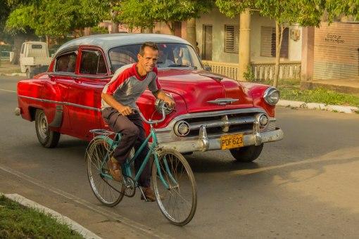 Car and Biker