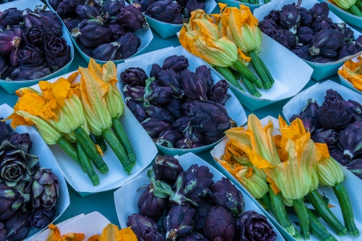Fiesole and Squash Blossoms