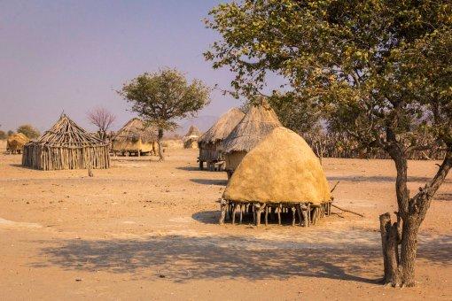 Himba Huts